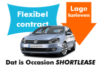 occasion shortlease tarieven